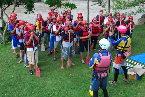 Rafting Serayu (Bannyu Woong Adventure) (7)