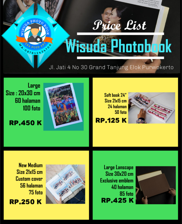 Wisuda photo book